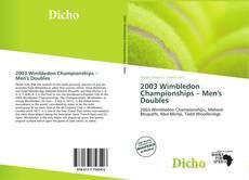 Capa do livro de 2003 Wimbledon Championships – Men's Doubles