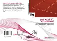Обложка 2003 Wimbledon Championships