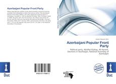 Bookcover of Azerbaijani Popular Front Party