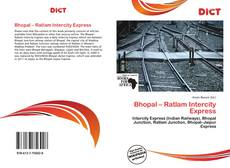 Bookcover of Bhopal – Ratlam Intercity Express