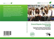 Bookcover of Grand Rapids Community College