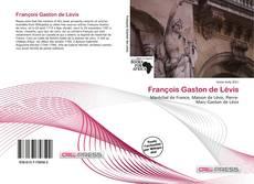 François Gaston de Lévis kitap kapağı