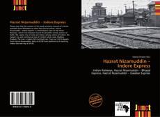 Bookcover of Hazrat Nizamuddin – Indore Express