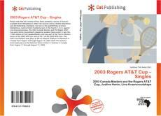 Couverture de 2003 Rogers AT&T Cup – Singles