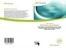 Borítókép a  Balakishi Arablinski - hoz