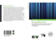 Bookcover of Ernest Belfort Bax