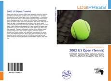 2002 US Open (Tennis)的封面