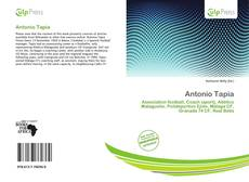 Antonio Tapia kitap kapağı