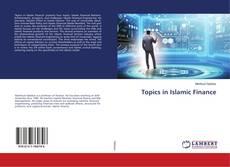 Обложка Topics in Islamic Finance