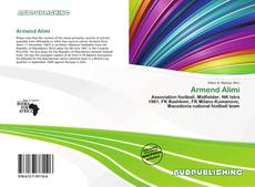 Armend Alimi kitap kapağı