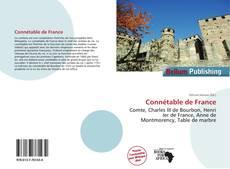 Portada del libro de Connétable de France