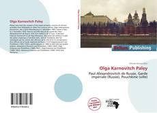 Buchcover von Olga Karnovitch Paley