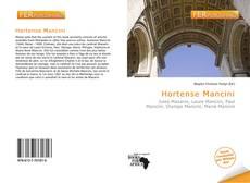 Hortense Mancini kitap kapağı