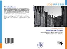 Buchcover von Marie Ire d'Écosse