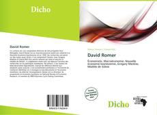 Bookcover of David Romer