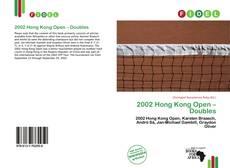 Couverture de 2002 Hong Kong Open – Doubles