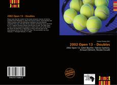 Couverture de 2002 Open 13 – Doubles