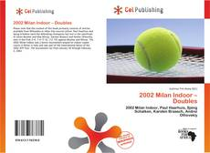 Couverture de 2002 Milan Indoor – Doubles