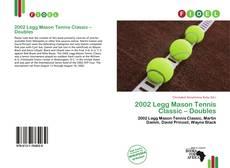 Couverture de 2002 Legg Mason Tennis Classic – Doubles