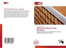 Borítókép a  2002 President's Cup – Doubles - hoz