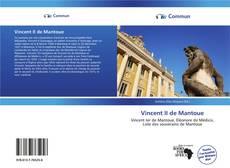Bookcover of Vincent II de Mantoue
