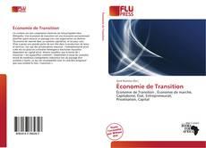 Économie de Transition kitap kapağı