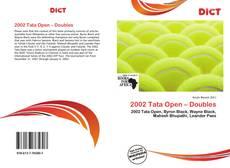 Couverture de 2002 Tata Open – Doubles