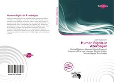 Bookcover of Human Rights in Azerbaijan