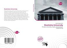 Portada del libro de Doshisha University
