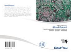 Bookcover of Albert Caquot