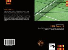 Couverture de 2002 Open 13