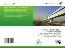 Bookcover of Hazrat Nizamuddin – Gwalior Express