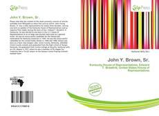 Capa do livro de John Y. Brown, Sr.