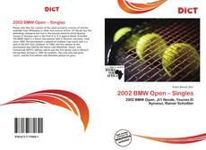 2002 BMW Open – Singles的封面