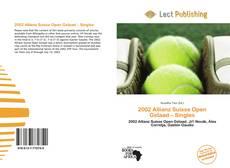 Capa do livro de 2002 Allianz Suisse Open Gstaad – Singles