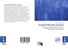 Capa do livro de Joseph O'Rourke (activist)