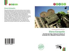 Bookcover of Elena Carapetis