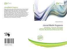 Javad Malik-Yeganov kitap kapağı