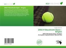 Bookcover of 2002 If Stockholm Open – Singles
