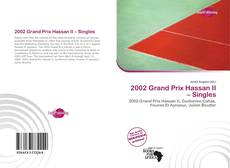 Bookcover of 2002 Grand Prix Hassan II – Singles