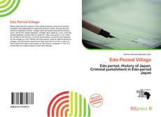 Bookcover of Edo Period Village