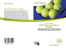Couverture de 2002 Samsung Open – Singles