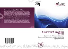Buchcover von Government Equalities Office
