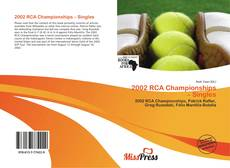 Bookcover of 2002 RCA Championships – Singles