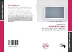 Couverture de Caroline Correa