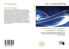 Lambdin P. Milligan kitap kapağı