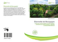 Capa do livro de Étiennette de Bourgogne