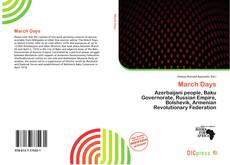 Bookcover of March Days