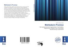 Bookcover of Mahboba's Promise