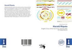 Buchcover von Harald Riipalu